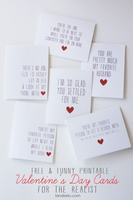 Valentine's Day Cards for the Realist