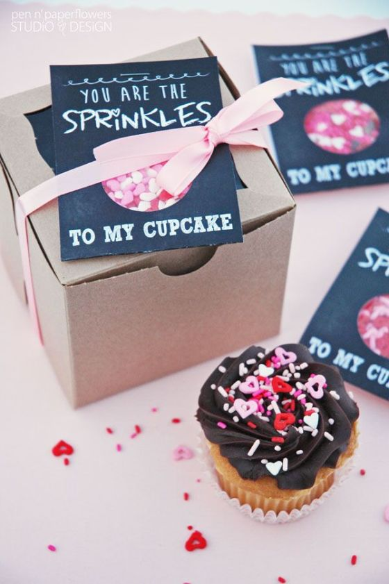 You Are the Sprinkles to My Cupcake