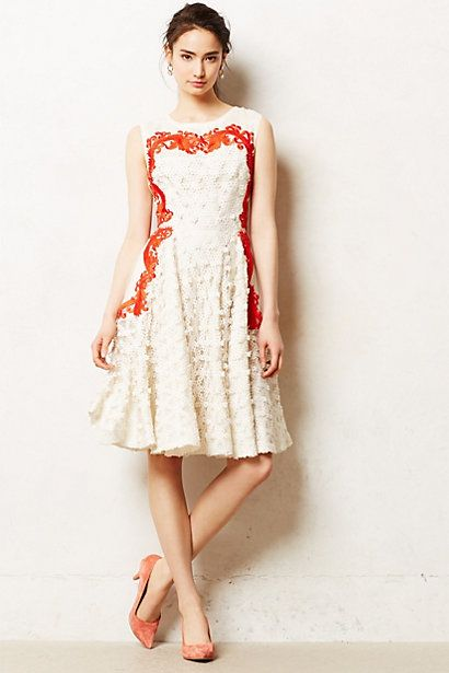 Aster Flared Dress - Anthropologie