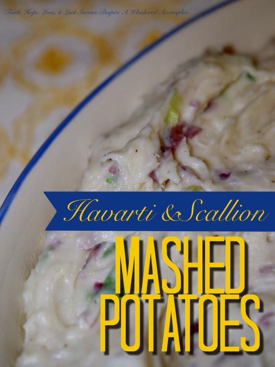 Havarti and Scallion Mashed Potatoes
