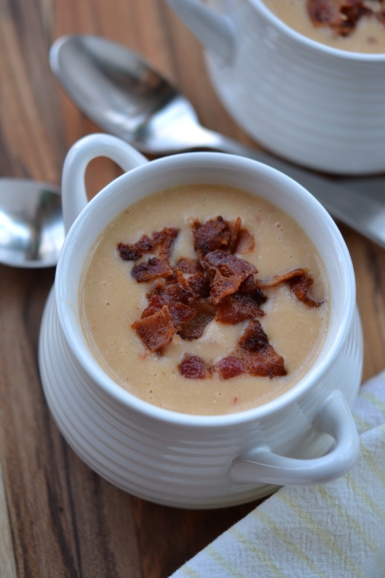Simply Potatoes Spicy Chipotle and Bacon Cream Soup