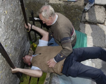 Kiss the Blarney Stone