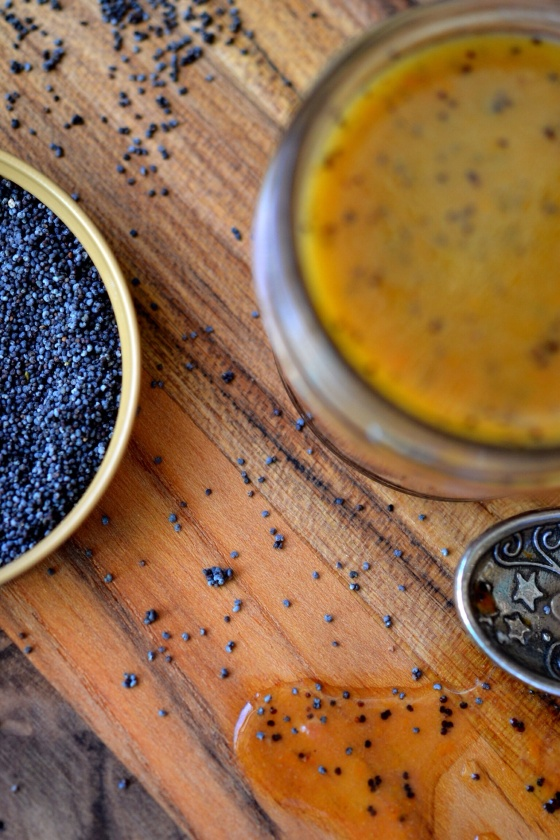 Blood Orange Poppy Seed Vinaigrette