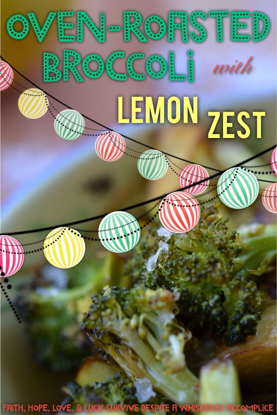 Oven-Roasted Broccoli with Lemon Zest