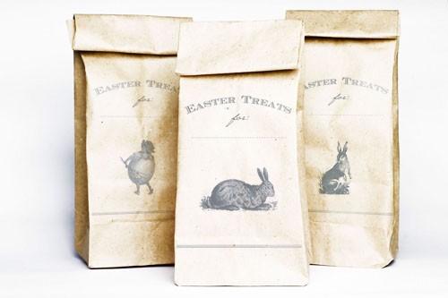 Vintage Easter Treat Bags