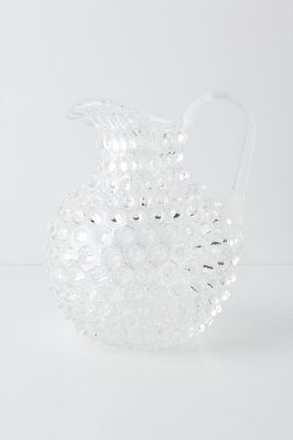 Hobnail Pitcher | Faith, Hope, Love, and Luck Survive Despite a Whiskered Accomplice