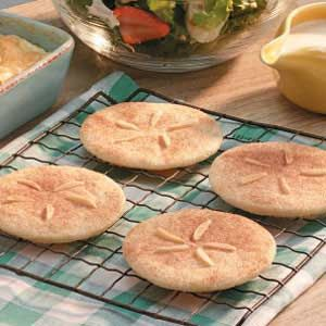 Sand Dollar Cookies | Faith, Hope, Love, and Luck Survive Despite a Whiskered Accomplice