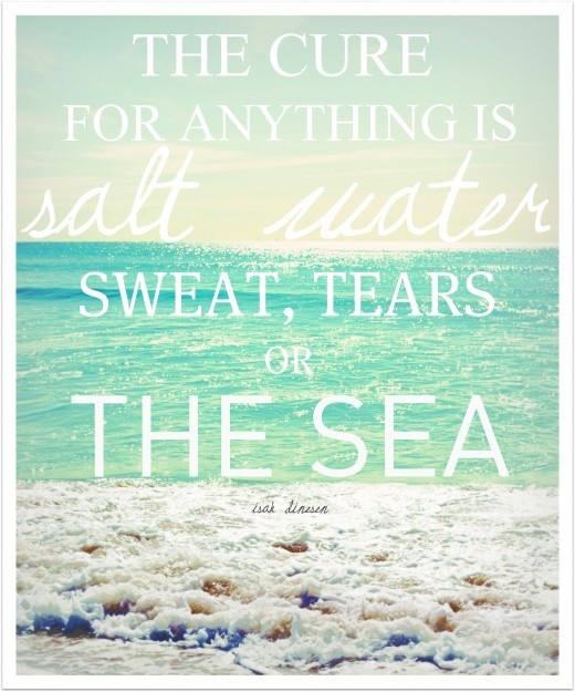 The Cure for Anything Is Salt Water, Sweat, Tears or the Sea | Faith, Hope, Love, and Luck Survive Despite a Whiskered Accomplice
