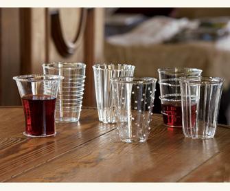 Venetian-Style Glass Tumblers