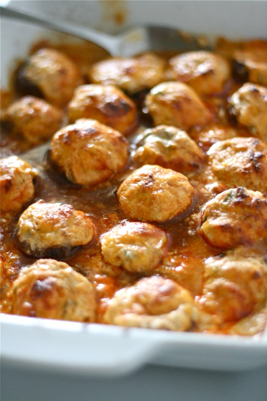 Enchilada Stuffed Mushrooms | Faith, Hope, Love, and Luck Survive Despite a Whiskered Accomplice