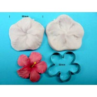 Hibiscus Flower Cutter Veiner Set | Faith, Hope, Love, and Luck Survive Despite a Whiskered Accomplice