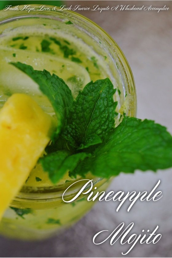 Pineapple Mojito | Faith, Hope, Love, and Luck Survive Despite a Whiskered Accomplice