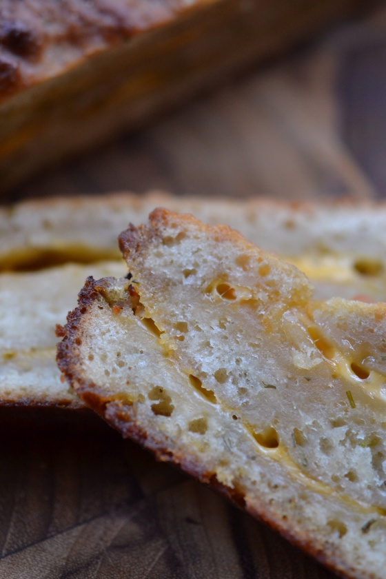 Summer Grilled Cheese Bread | Faith, Hope, Love, and Luck Survive Despite a Whiskered Accomplice