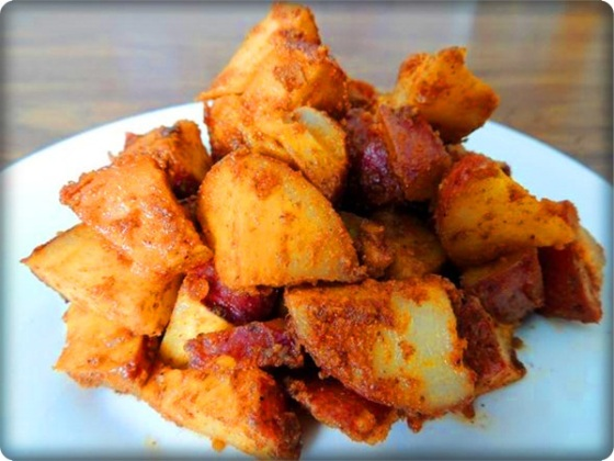 Mexican Potatoes | Faith, Hope, Love, and Luck Survive Despite a Whiskered Accomplice