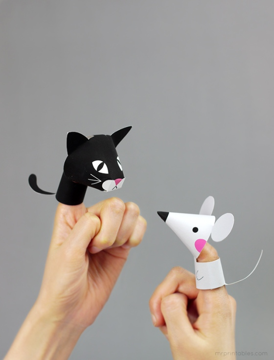 Farm Animal Finger Puppets | Faith, Hope, Love, and Luck Survive Despite a Whiskered Accomplice