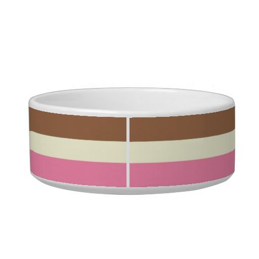 Neapolitan Ice Cream Cat Bowl | Faith, Hope, Love, and Luck Survive Despite a Whiskered Accomplice