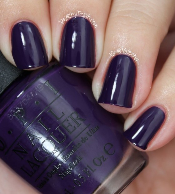 OPI Vant to Bite My Neck | Faith, Hope, Love, and Luck Survive Despite a Whiskered Accomplice