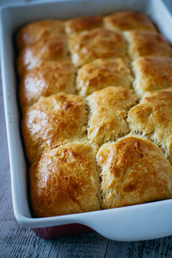 Pull-Apart Hawaiian Rolls | Faith, Hope, Love, and Luck Survive Despite a Whiskered Accomplice