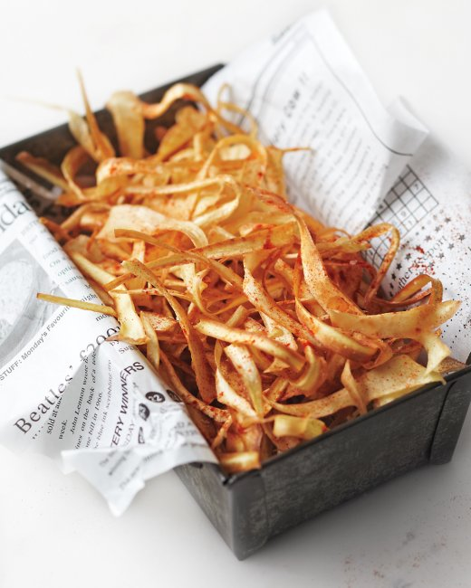 Smoky Parsnip Crisps | Faith, Hope, Love, and Luck Survive Despite a Whiskered Accomplice