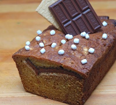 S'mores Pumpkin Bread | Faith, Hope, Love, and Luck Survive Despite a Whiskered Accomplice