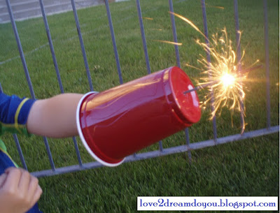 Sparkler Shield | Faith, Hope, Love, and Luck Survive Despite a Whiskered Accomplice