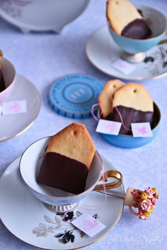 Tea Bag Cookies | Faith, Hope, Love, and Luck Survive Despite a Whiskered Accomplice
