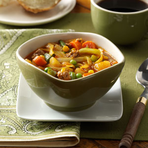 German Vegetable Soup | Faith, Hope, Love, and Luck Survive Despite a Whiskered Accomplice