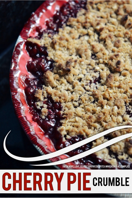 Cherry Pie Crumble | Faith, Hope, Love, and Luck Survive Despite a Whiskered Accomplice